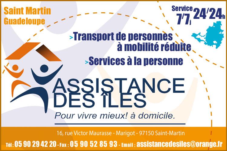 Assistance des Iles du Nord - Anuuaire Téléphonique Saint Martin