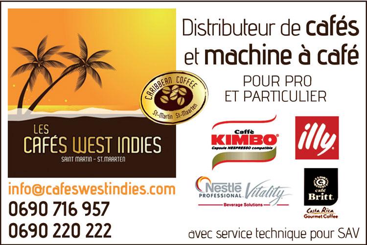 Cafés West Indies - Annuaire Téléphonique Saint-Martin