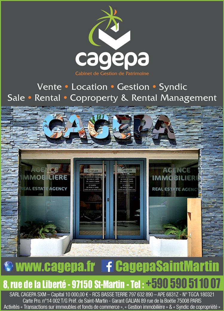 CAGEPA - Annuaire Téléphonique Saint Martin