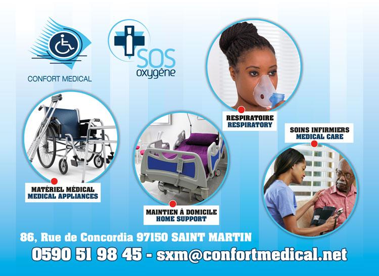 CONFORT MEDICAL - Annuaire Téléphonique Saint-Martin