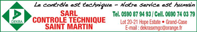 Dekra - Contrôle Technique - Annuaire Téléphonique Saint-Martin