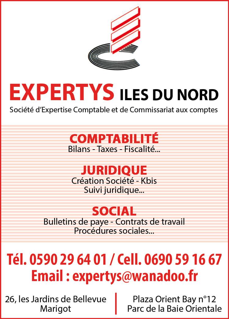 Expertys - Comptabilité - Annuaire Téléphonique Saint-Martin