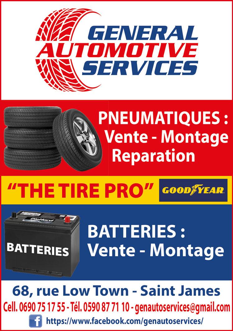 GENERAL AUTOMOTIVE SERVICES - Annuaire Téléphonique Saint-Martin