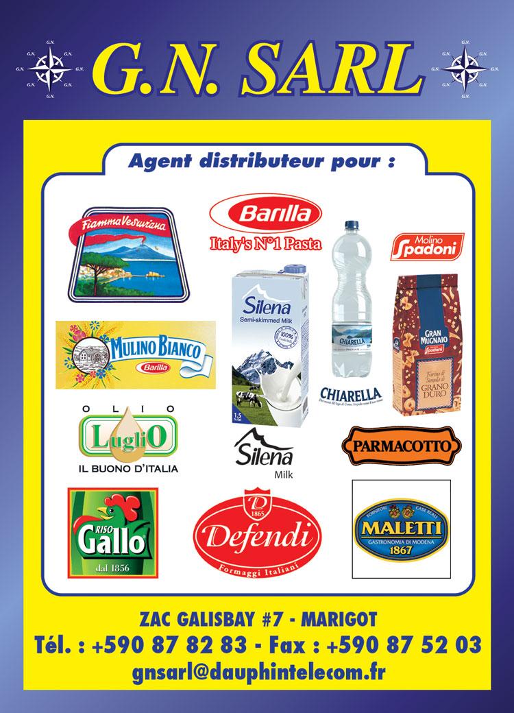 GN SARL - Alimentation - Annuaire Téléphonique Saint-Martin