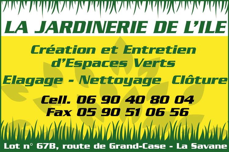 LA JARDINERIE DE L'ILE - Annuaire Téléphonique Saint-Martin