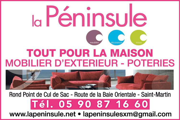 LA PENINSULE - Annuaire Téléphonique Saint-Martin