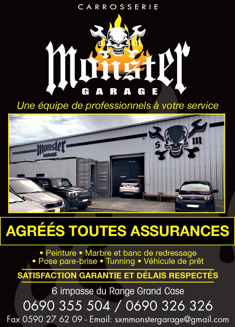 Monster Garage - Annuaire Téléphonique Saint-Martin