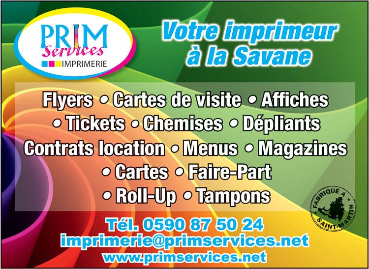 PRIM SERVICES - Annuaire Téléphonique Saint-Martin