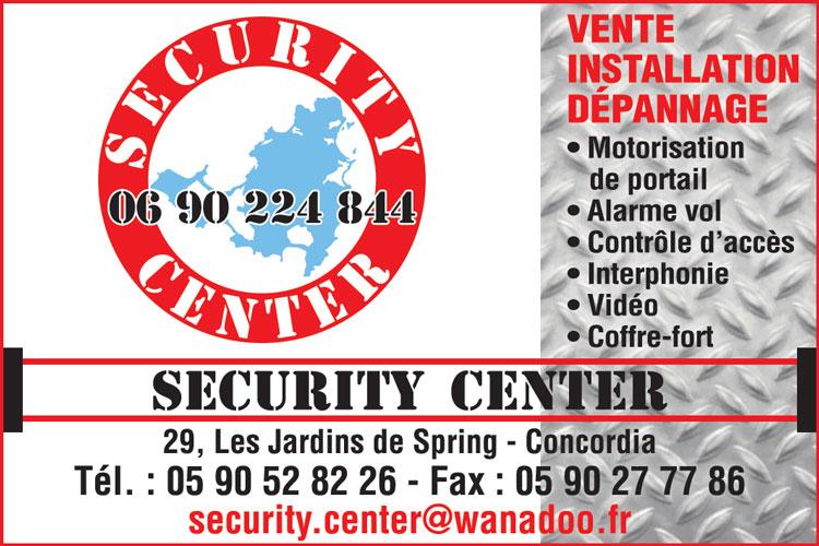 SECURITY CENTER - Annuaire Téléphonique Saint-Martin