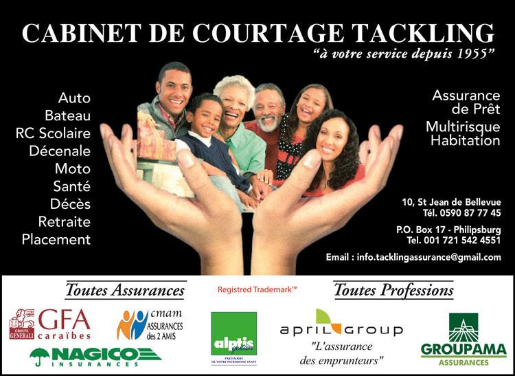 Tackling Assurances - Annuaire Téléphonique Saint-Martin