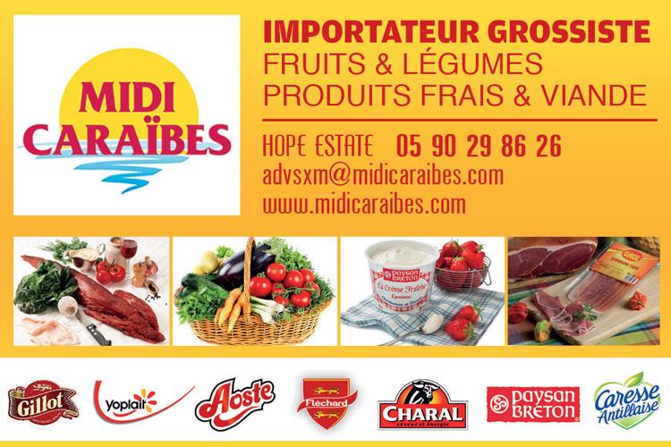 MIDI CARAIBES - Annuaire Téléphonique Saint-Martin