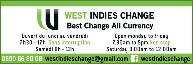 West Indies Change - Annuaire Téléphonique Saint-Martin