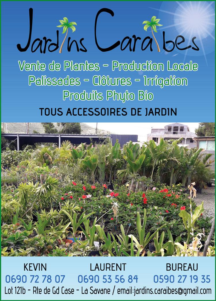 JARDINS CARAÏBES - Annuaire Téléphonique Saint-Martin
