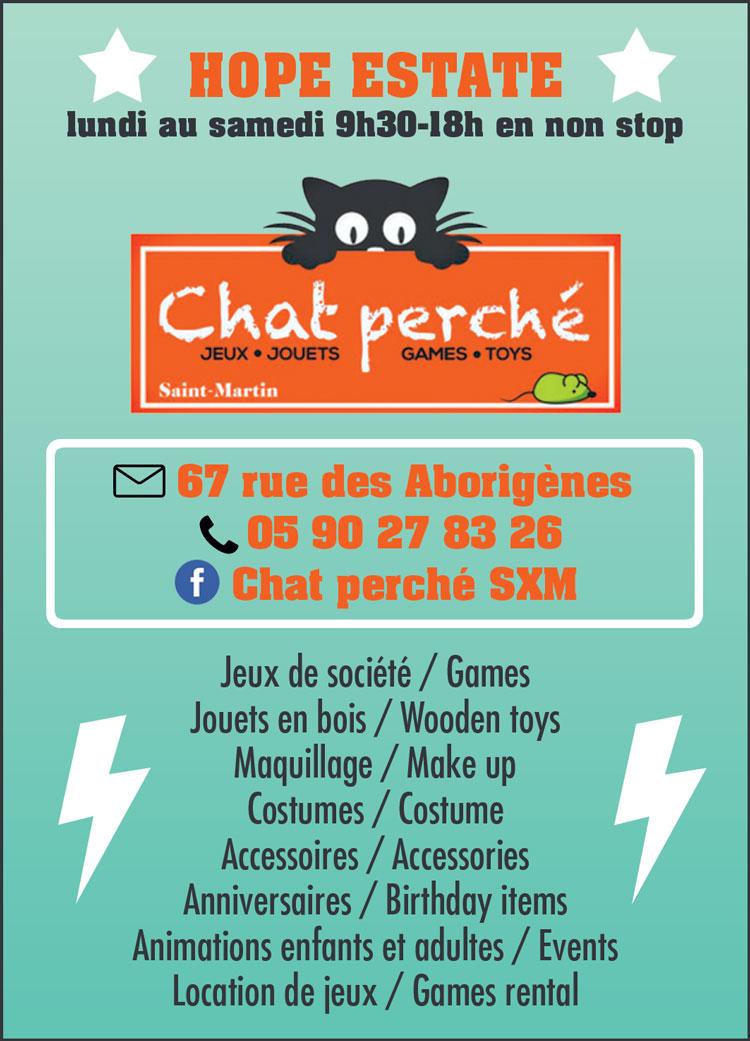 CHAT PERCHÉ - Annuaire Téléphonique Saint-Martin