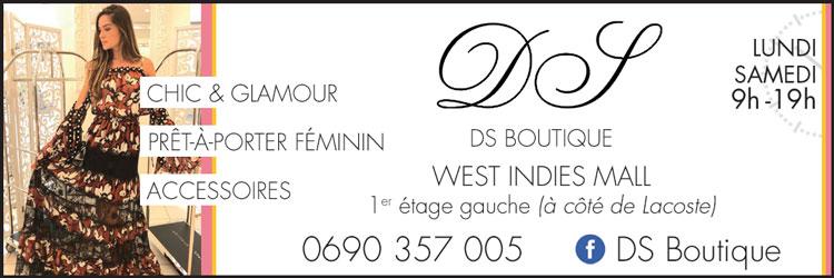 DS BOUTIQUE - Annuaire Téléphonique Saint-Martin