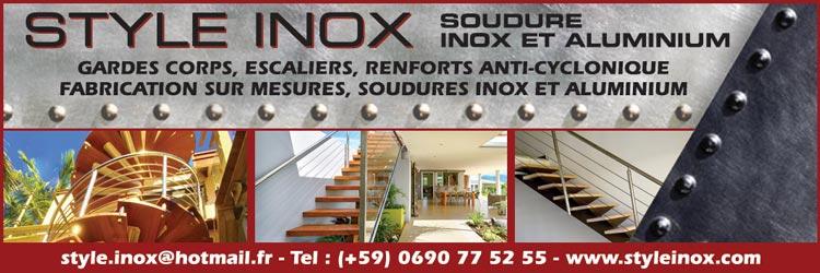 STYLE INOX - Annuaire Téléphonique Saint-Martin