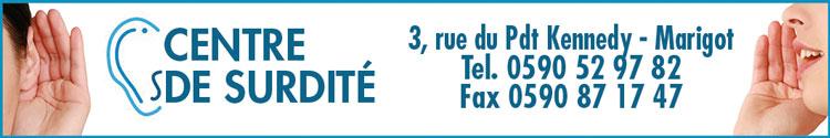 CENTRE DE SURDITÉ - Annuaire Téléphonique Saint-Martin