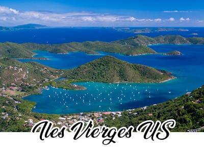 Saint Martin - Sint Maarten - Iles Vièrges US